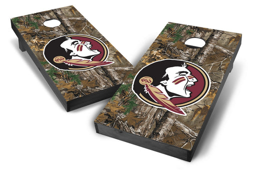 Florida State Seminoles 2x4 Cornhole Board Set Onyx Stained - Xtra Camo
