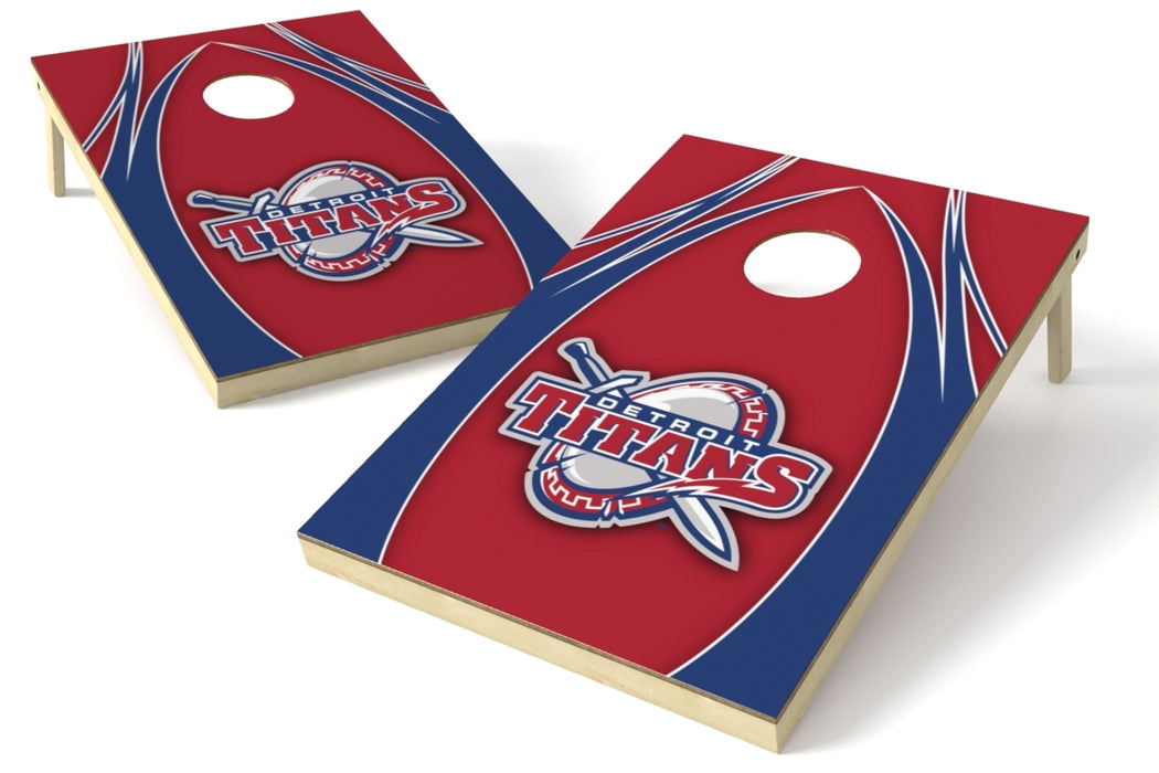 Detroit Mercy 2x3 Cornhole Board Set