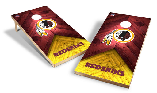 Washington Redskins 2x4 Cornhole Board Set - Weathered