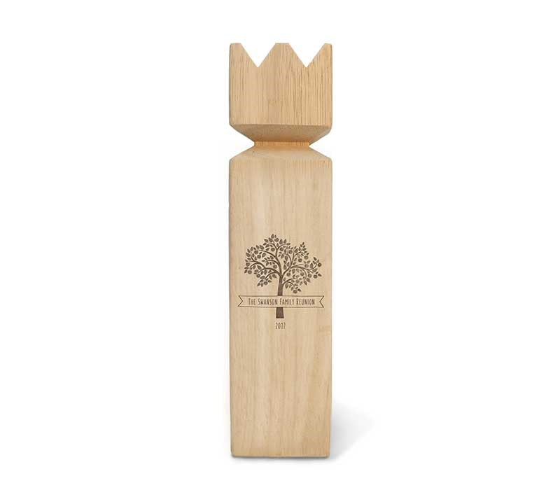 Customized Kubb Game Premium Set