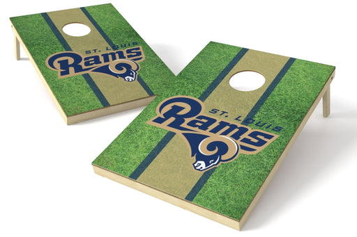 Los Angeles Rams 2x3 Cornhole Board Set - Field