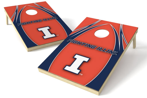 Illinois Fightin Illini 2x3 Cornhole Board Set