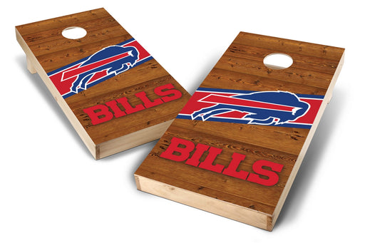 Buffalo Bills 2x4 Cornhole Board Set - Logo