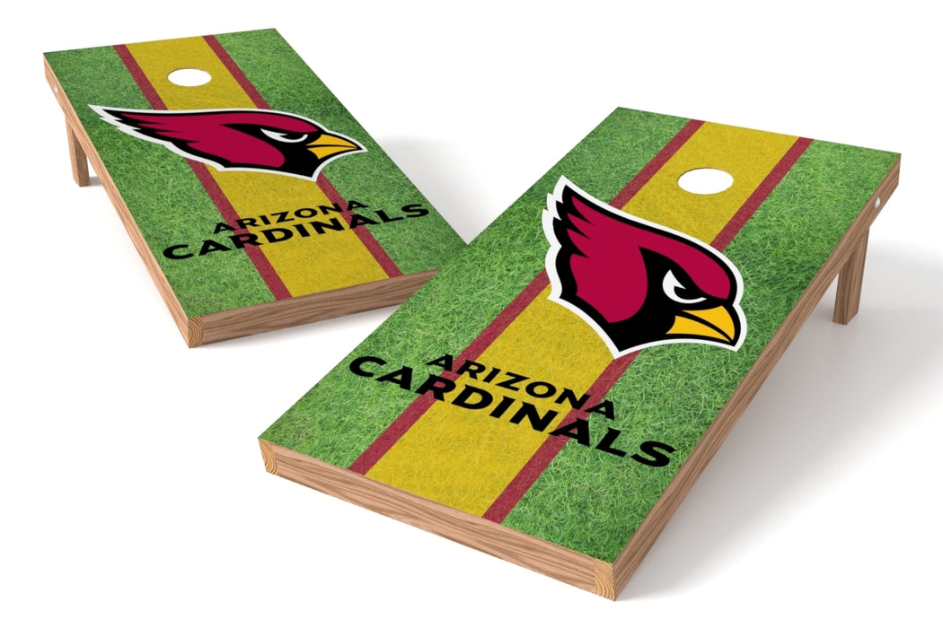 Arizona Cardinals 2x4 Cornhole Board Set - Field