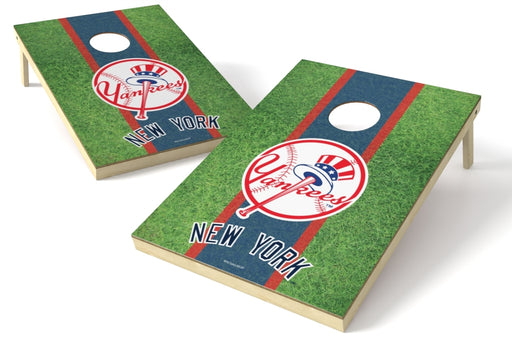 New York Yankees 2x3 Cornhole Board Set - Field