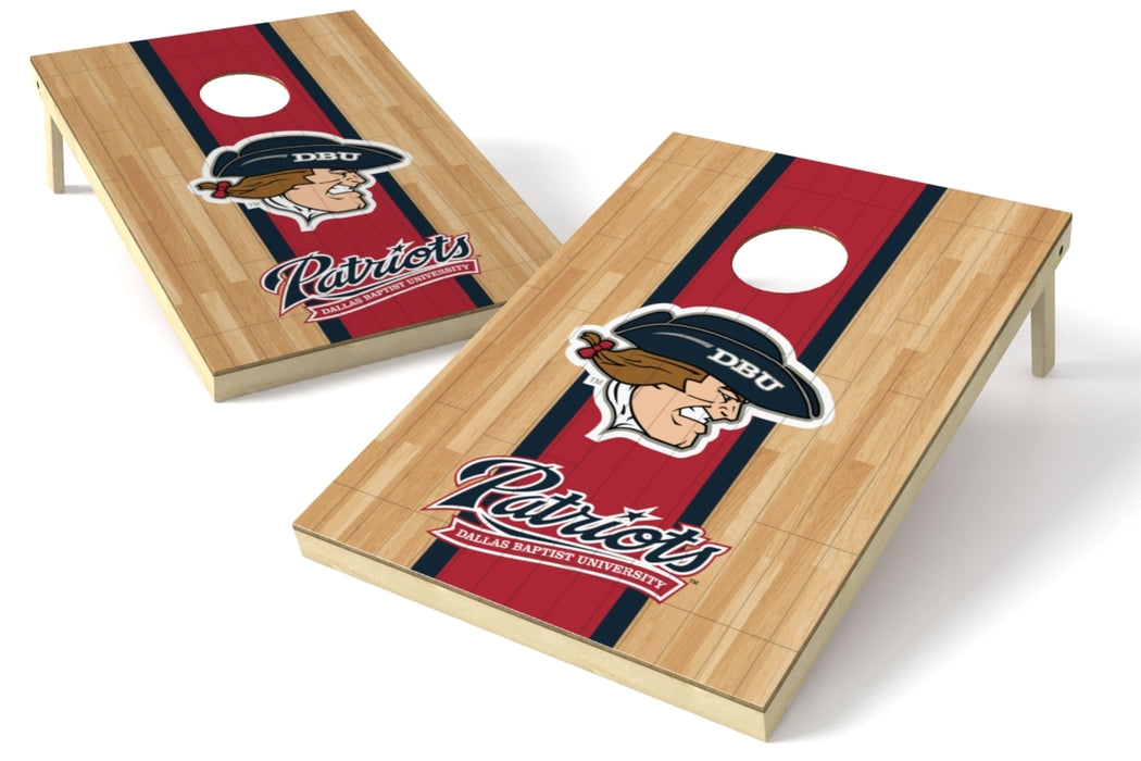 Dallas Baptist 2x3 Cornhole Board Set - Hardwood