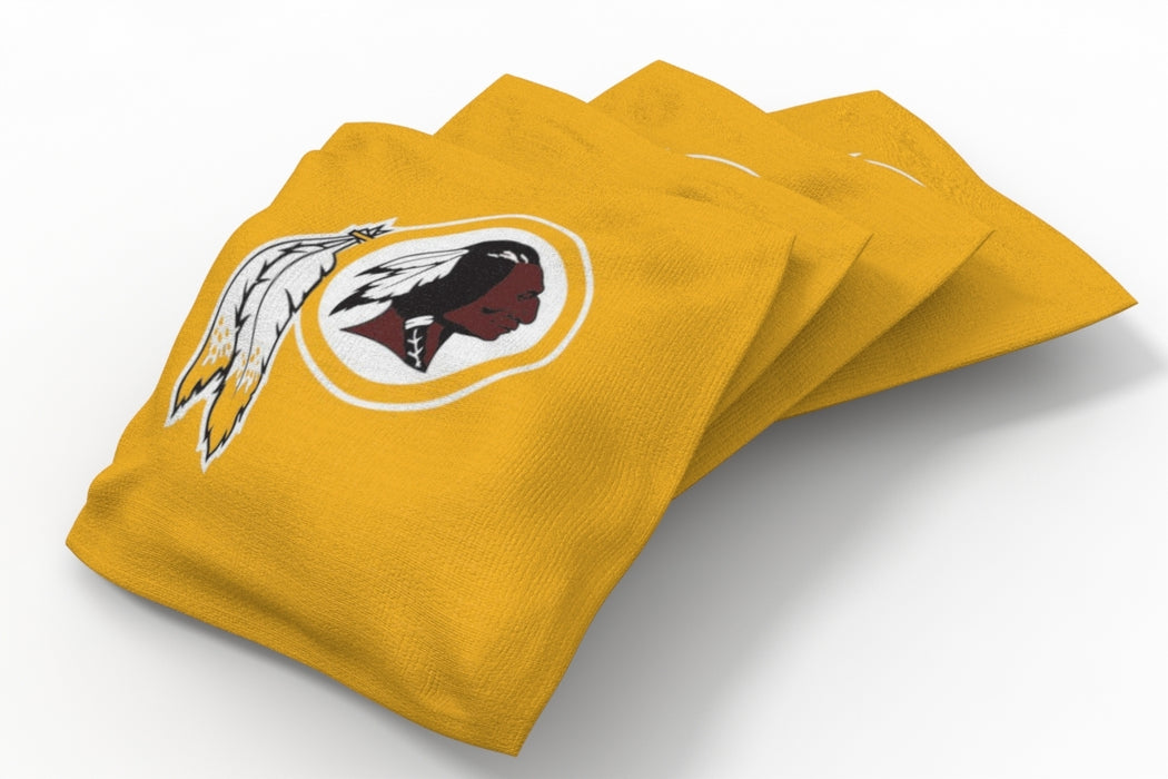 Washington Redskins Solid Bean Bags - 4pk