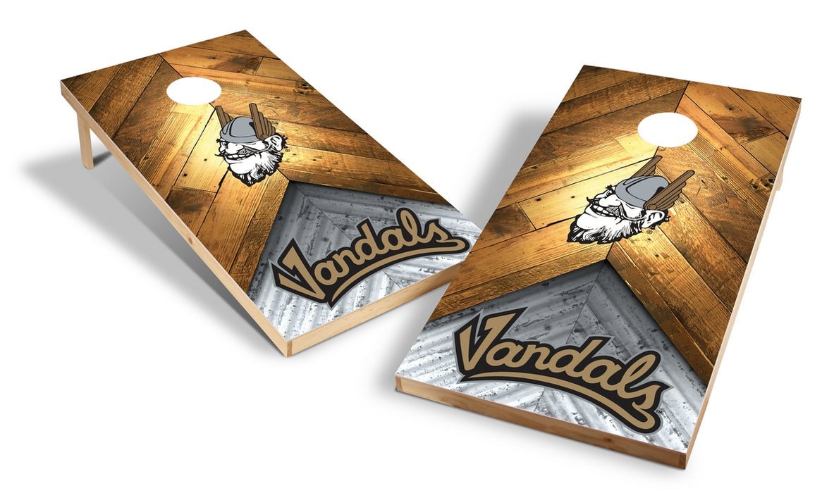 Idaho 2x4 Cornhole Board Set - Weathered