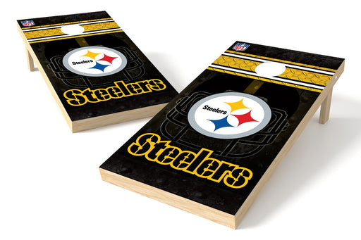 Pittsburgh Steelers 2x4 Cornhole Board Set - Logo
