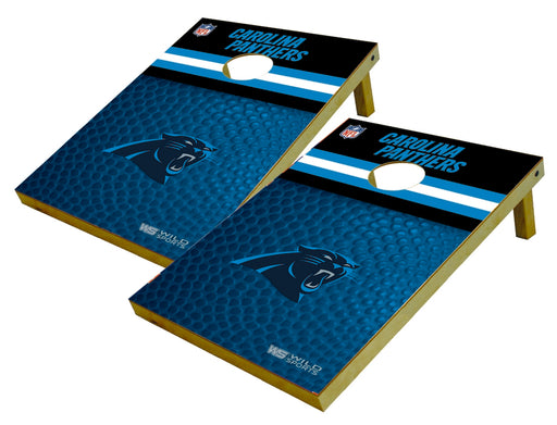 Carolina Panthers 2x3 Cornhole Board Set - Pigskin