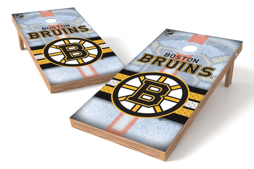 Boston Bruins 2x4 Cornhole Board Set - Rink