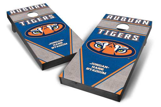 Auburn Tigers 2x4 Cornhole Board Set Onyx Stained - Burlap