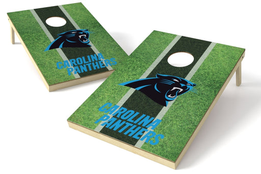 Carolina Panthers 2x3 Cornhole Board Set - Field