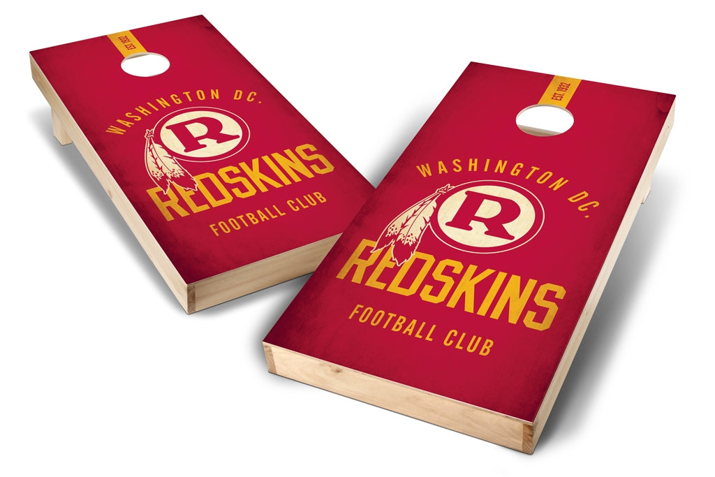 Washington Redskins 2x4 Cornhole Board Set - Nostalgia