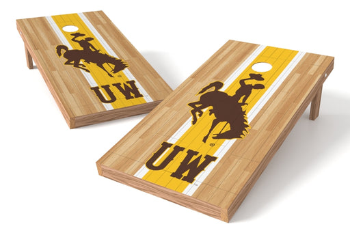 Wyoming 2x4 Cornhole Board Set - Wood