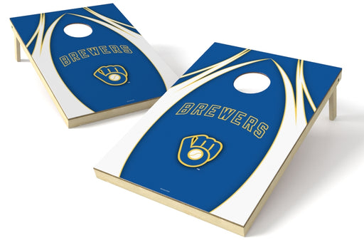 Milwaukee Brewers 2x3 Cornhole Board Set