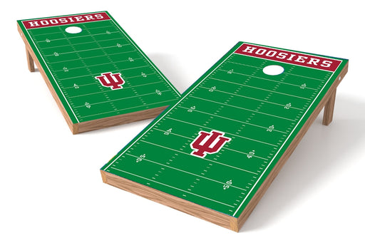 Indiana Hoosiers 2x4 Cornhole Board Set - Field