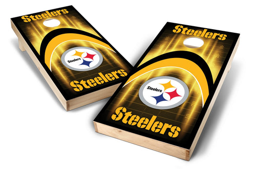 Pittsburgh Steelers 2x4 Cornhole Board Set - Arch