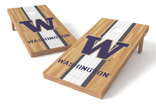 Washington Huskies 2x4 Cornhole Board Set - Wood