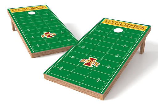Iowa State Cyclones 2x4 Cornhole Board Set - Field