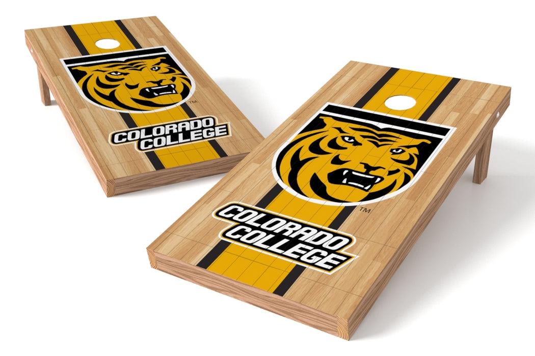 Colorado College 2x4 Cornhole Board Set - Wood