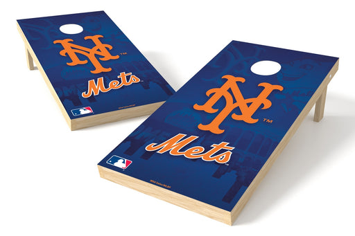 New York Mets 2x4 Cornhole Board Set - Logo