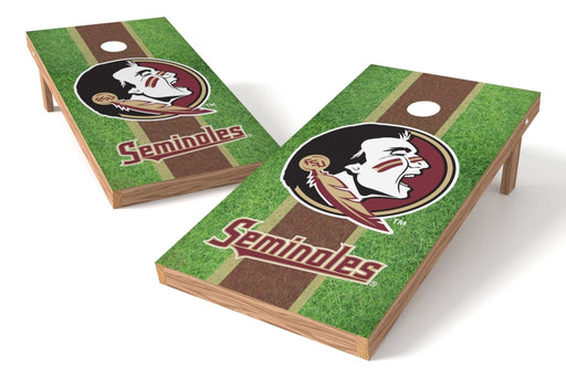 Florida State Seminoles 2x4 Cornhole Board Set - Field