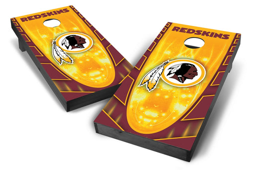 Washington Redskins 2x4 Cornhole Board Set Onyx Stained - Hot