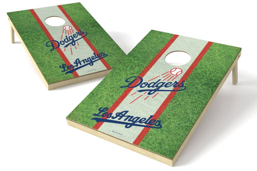 Los Angeles Dodgers 2x3 Cornhole Board Set - Field