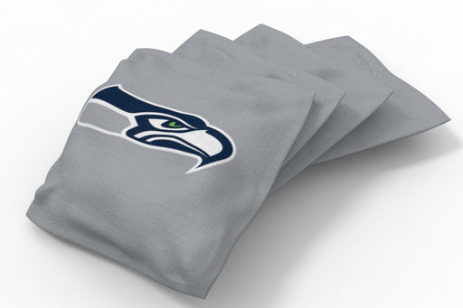 Seattle Seahawks Solid Bean Bags - 4pk