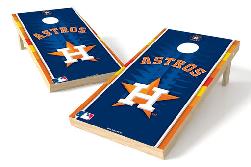 Houston Astros 2x4 Cornhole Board Set - Logo