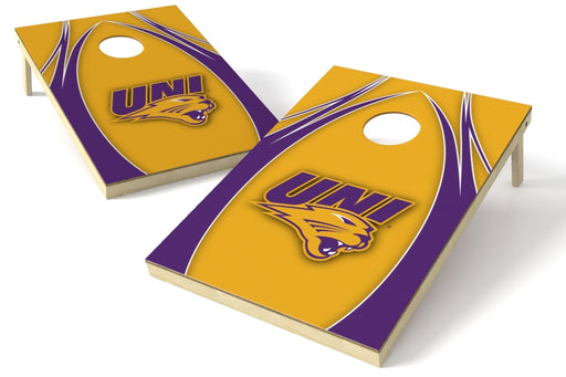 Northern Iowa 2x3 Cornhole Board Set