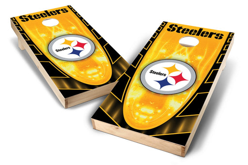 Pittsburgh Steelers 2x4 Cornhole Board Set - Hot