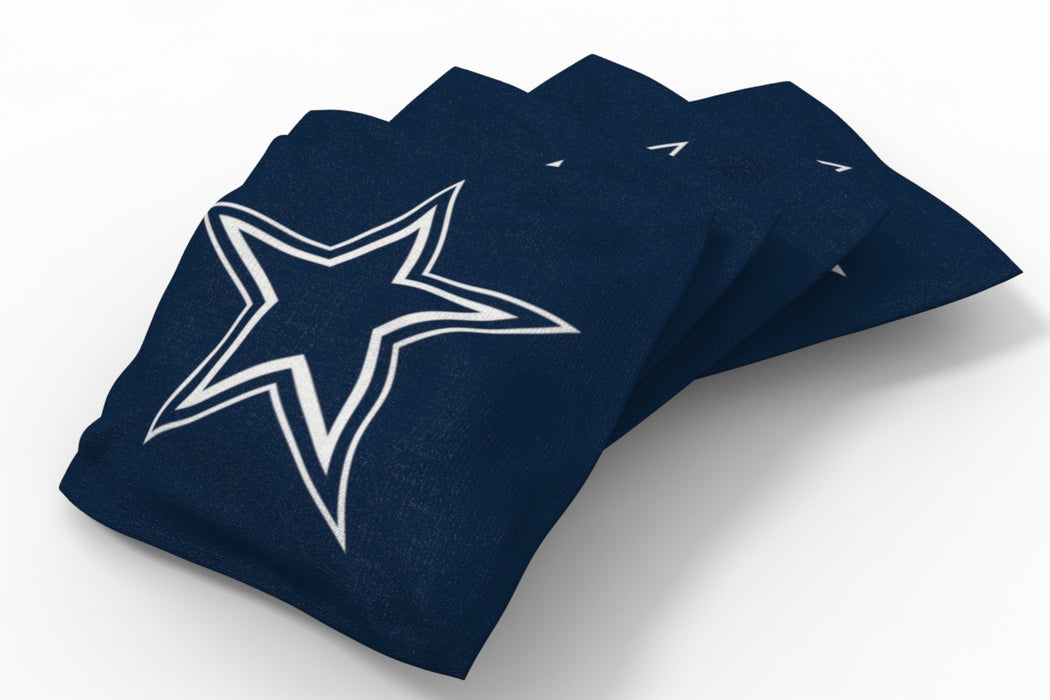 Dallas Cowboys 2x4 Cornhole Board Set - Weathered