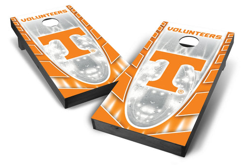 Tennessee Volunteers 2x4 Cornhole Board Set Onyx Stained - Hot