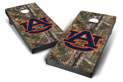 Auburn Tigers 2x4 Cornhole Board Set Onyx Stained - Xtra Camo
