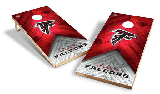 Atlanta Falcons 2x4 Cornhole Board Set - Weathered