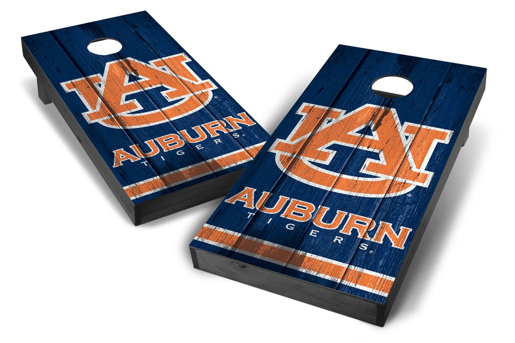 Auburn Tigers 2x4 Cornhole Board Set Onyx Stained - Vintage