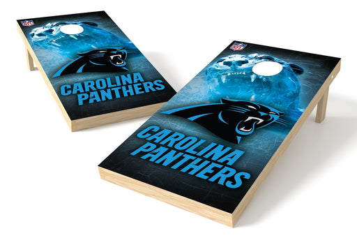 Carolina Panthers 2x4 Cornhole Board Set - Logo