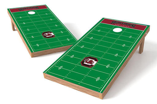 South Carolina 2x4 Cornhole Board Set - Field