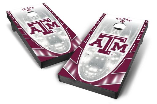 Texas A&M Aggies 2x4 Cornhole Board Set Onyx Stained - Hot