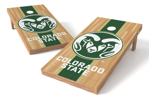 Colorado State Rams 2x4 Cornhole Board Set - Wood