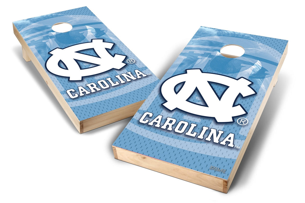 North Carolina Tar Heels 2x4 Cornhole Board Set - Wild