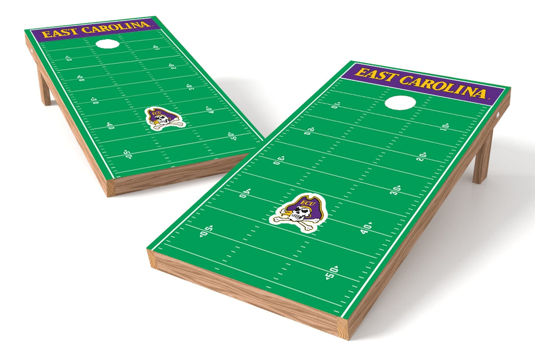 East Carolina 2x4 Cornhole Board Set - Field