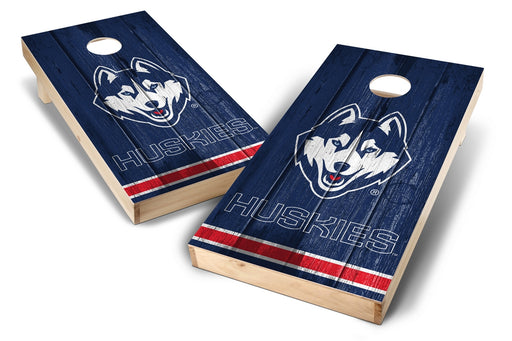 Connecticut Huskies 2x4 Cornhole Board Set - Vintage