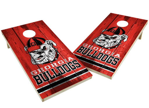 Georgia Bulldogs 2x4 Cornhole Board Set - Vintage