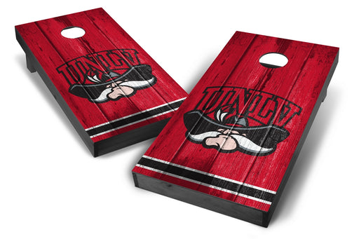 UNLV Rebels 2x4 Cornhole Board Set Onyx Stained - Vintage