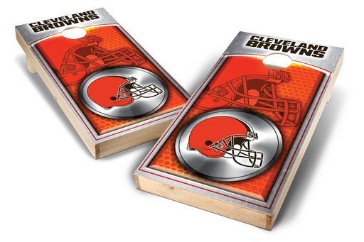 Cleveland Browns 2x4 Cornhole Board Set - Medallion