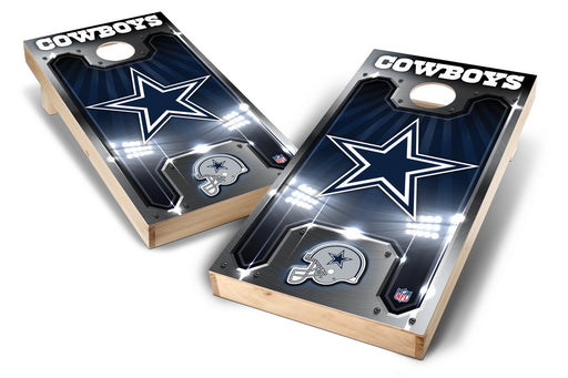 Dallas Cowboys 2x4 Cornhole Board Set - Plate