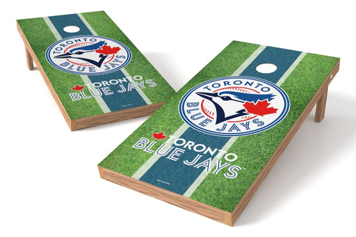 Toronto Blue Jays 2x4 Cornhole Board Set - Field